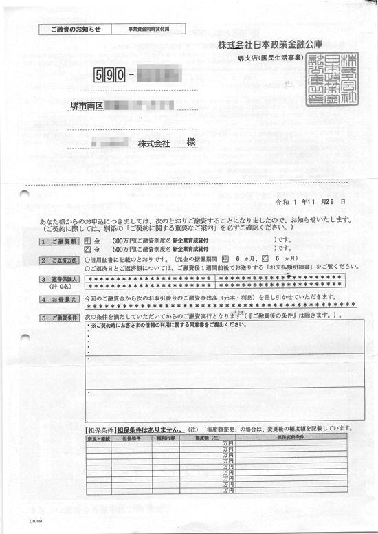 20191129ご融資のお知らせ